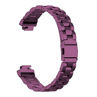 Watch strap compatible with Fitbit Inspire-Purple