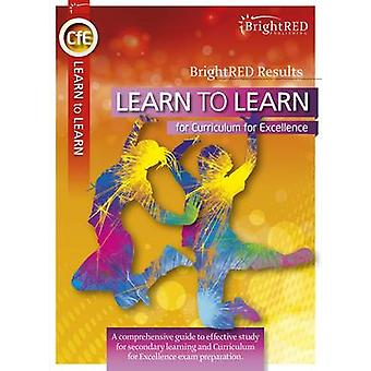BrightRED Learn to Learn for CFE by Shona Cochrane - 9781906736682 Bo