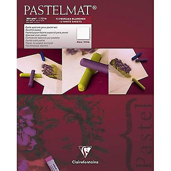 Clairefontaine Pastelmat Pad 360g White Sheets Sizes Listed