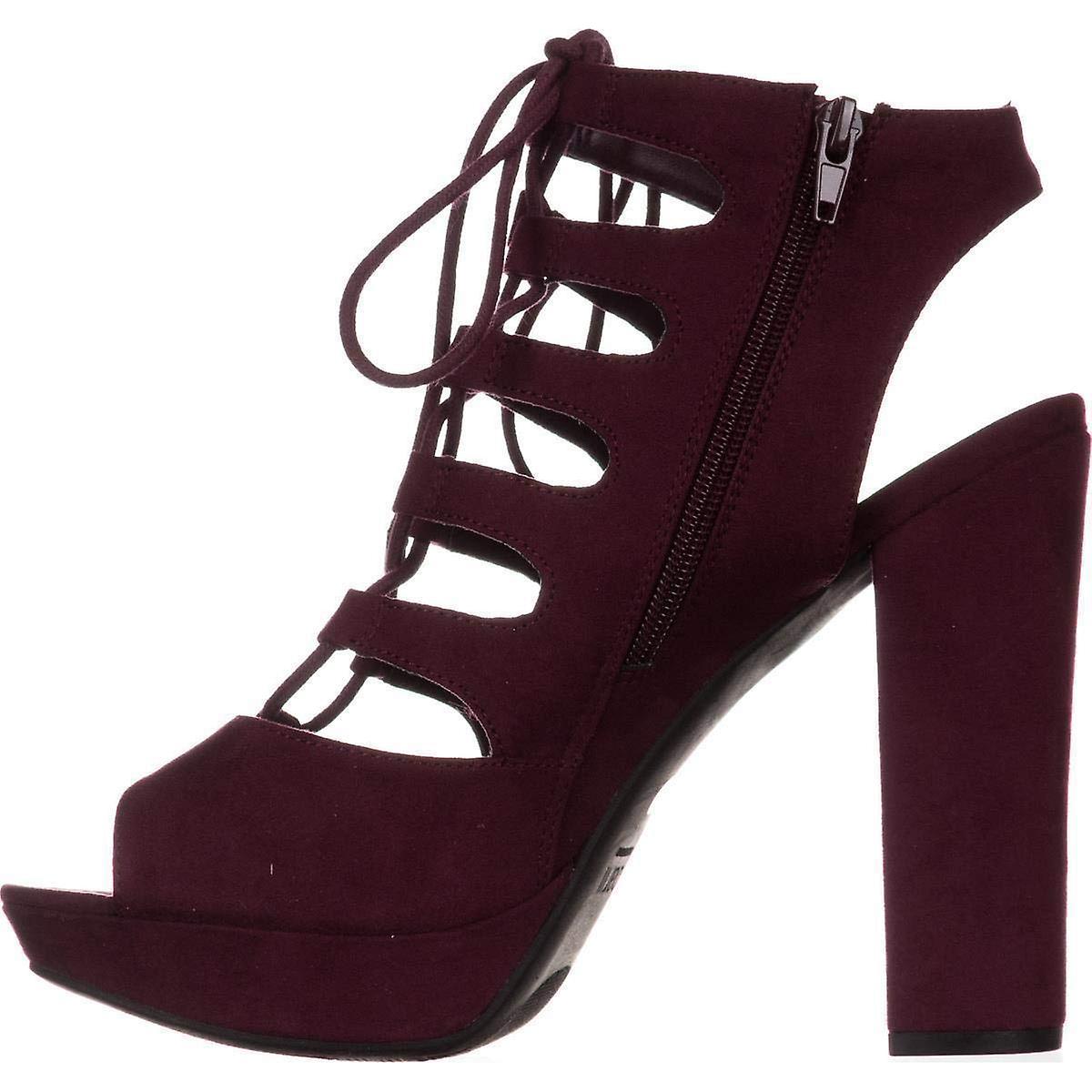Bar III Womens Nelly åpen tå Casual Strappy sandaler