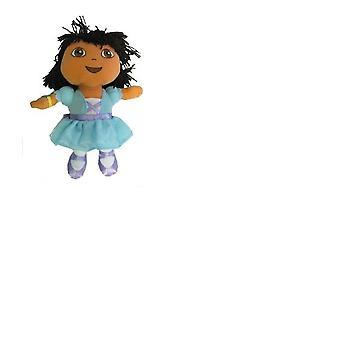 Plush Backpack Dora the Explorer Blue Dress Fairy Soft Doll Toys 28206