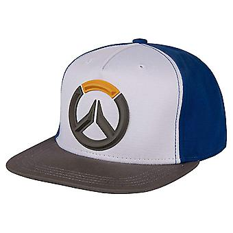 Baseball Cap - Overwatch - Watchpoint Snap-Back Hat White/Blue j8633