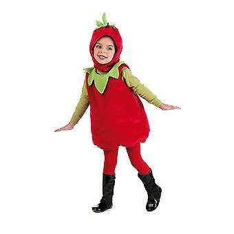 Strawberry barnas drakt søt frukt barn drakt