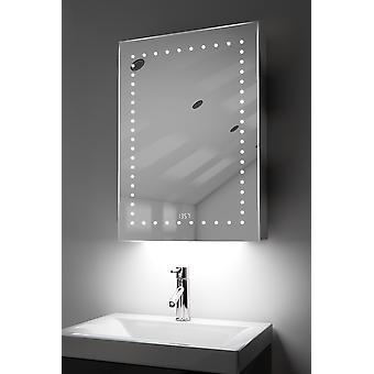 Óra szekrény az RGB, Demister, érzékelő & borotva k389rgb