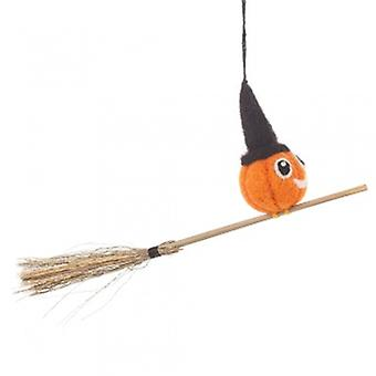Felt Flying Pumpkin Hanging Decoration| Gifts From Handpicked