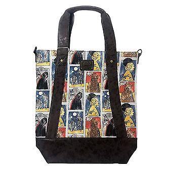 Star Wars Character Print Tote Bag