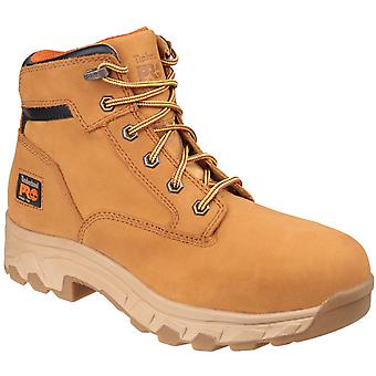 Timberland Pro Mens Workstead Lace-up Safety Boot Wheat