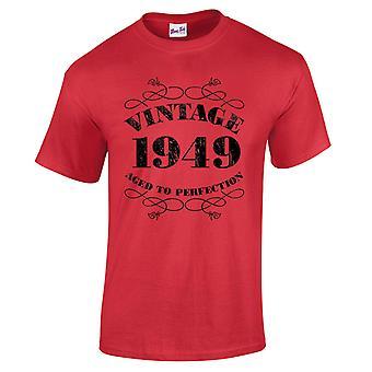 Mannen ' s 70e verjaardag T-Shirt Vintage 1949 nieuwigheid giften voor hem
