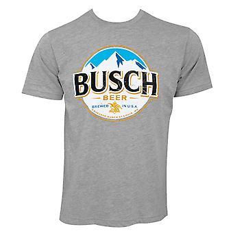 Busch Round Logo Tee Shirt