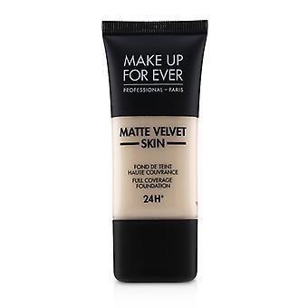 Make Up For Ever Matte Velvet Skin Full Coverage Foundation - # Y205 (alabaster) - 30ml/1oz