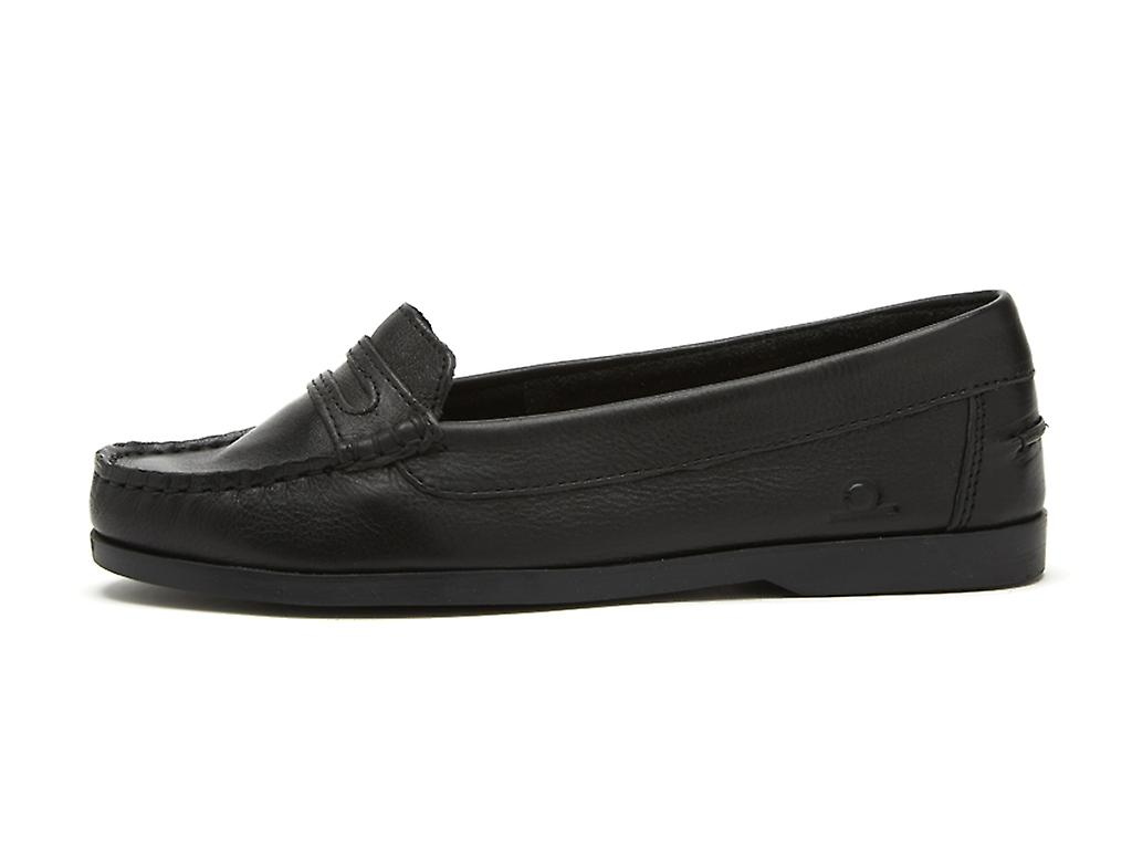 Chatham Women's Sally Leather Penny Loafers