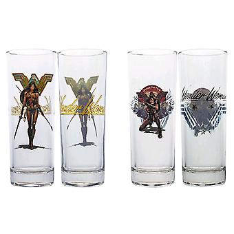 Wonder Woman Movie Warrior for Peace Tumbler Set