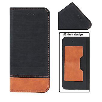 Huawei P Smart (2019)/Honor 10 en liten mobil lommebok-svart