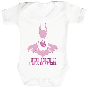 Will Be Bat Girl When I Grow Up - Baby Bodysuit