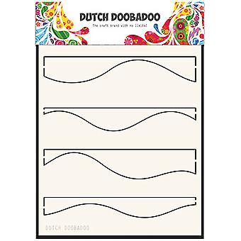 Dutch Doobadoo A5 Mask Stencil - Waves 715118