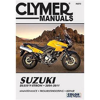 Suzuki Dl-650 V-Strom Repair Manual - 2004-2011 - 9781620921524 Book
