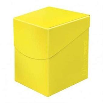 Ultra Pro 85690 Eclipse Pro 100 + Deck Box-amarillo limón