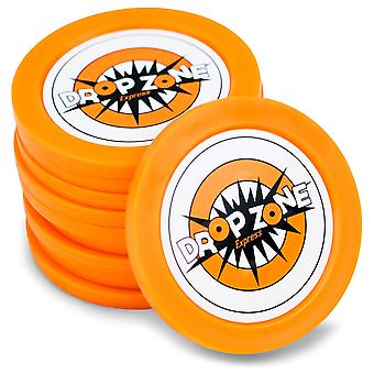 5 pack van vervangende Drop Zone Express pucks