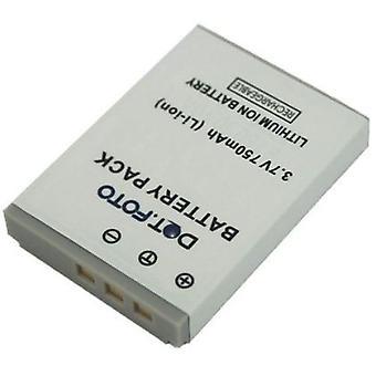 Dot.Foto Rollei 02491-0015-00, 02491-0026-00 sostituzione della batteria - 3.7 v / 750mAh
