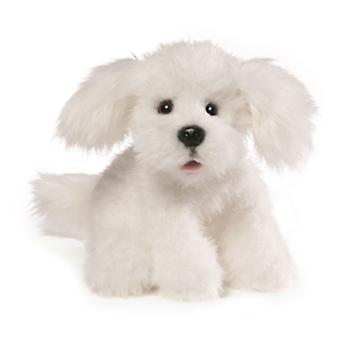 Gund Georgette White Dog (25cm)