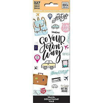 Me & My Big Ideas Stickers-Travel, 327/Pkg