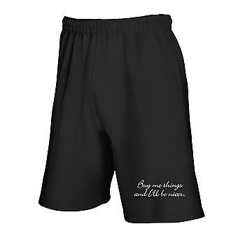 Black tracksuit shorts trk0448 buy things