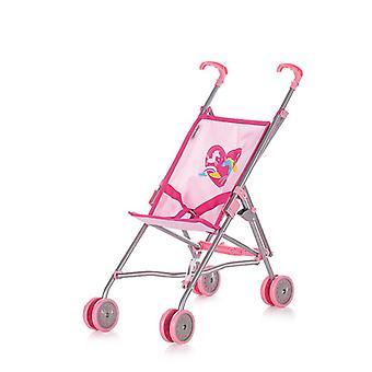 Chipolino lalka buggy Sima kucyk, składany, pas bezpieczeństwa, podwójne koła