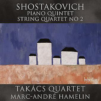 Shostakovich, D. / Hamelin, Marc-Andre - Piano Quintet - String Quartet No.2 [CD] USA import