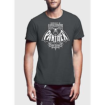 Black panther charcoal t-shirt