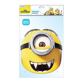 Minion Gone Batty Official Minions Card Party Fancy Dress Mask