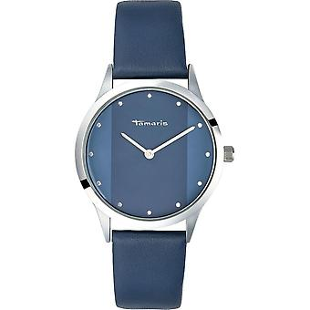 Tamaris - Wristwatch - Anita - DAU 35 - 5mm - Silver - Ladies - TW014 - Blue Silver