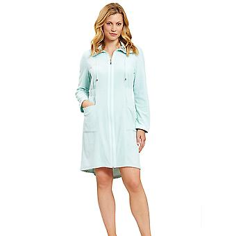Féraud 3201008-15800 Women's High Class Fresh Mint Dressing Gown