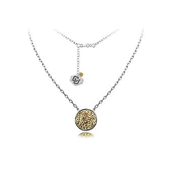 925 Sterling Silver Rhodium Plated Spirit Disc Necklace University Of Colorado 18 Inch Jewelry Gifts for Women