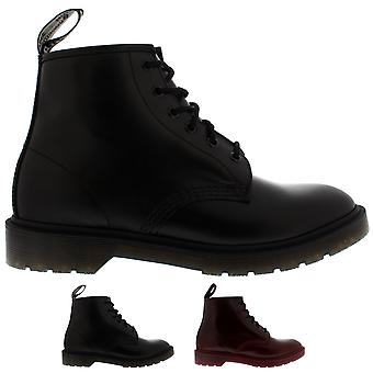 Unisex Adults Dr Martens 101 Br Smooth Leather Retro Punk Ankle Boots