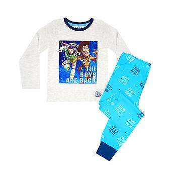 Disney Pixar Toy Story 4 The Boy's Are Back Woody Y Buzz Boy's Pyjamas