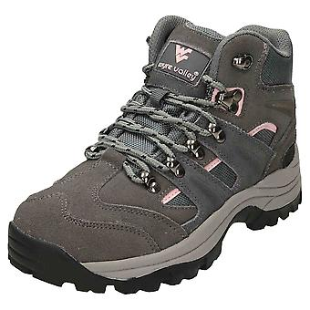 Wyre Valley Waterproof Walking Ankle Boots Suede Leather Grey