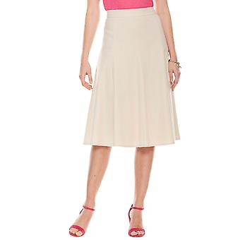 Ladies Womens Linen Skirt 25 Inch Length