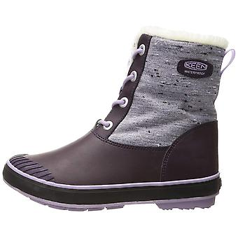 Kids Keen Girls Elsa Ankle Bungee Snow Boots