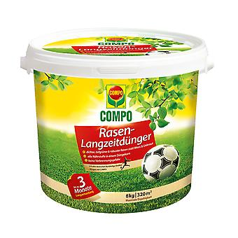 COMPO Lawn long-term fertilizer, 8 kg