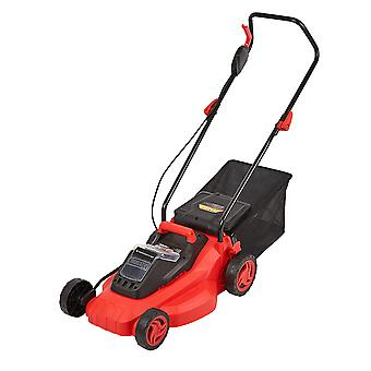 Cordless 36V Battery Lawnmower Garden Mower Grass Cutter 35L Bag Fast Charger