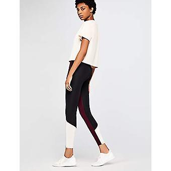 AURIQUE Women's BAL1042, Red (Port Royale/Black/Blush), EU M, Black, Size 8.0