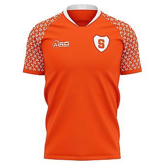 2020-2021 شاختار دونيتسك الرئيسية مفهوم قميص كرة القدم