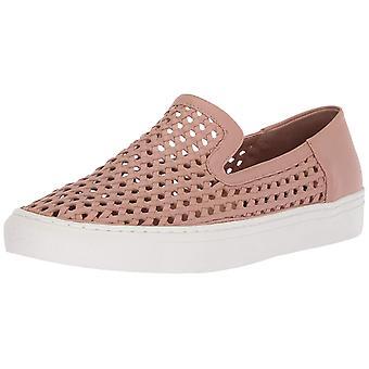 Steven by Steve Madden Womens keats Leather Low Top Slip On Fashion Sneakers