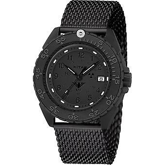 KHS Wristwatch الرجال المنفذ الأسود تيتان XTAC CR KHS. ENFBTCRXT. ميغابايت