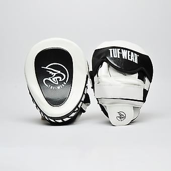 Tuf Wear Eagle Gel Curved Hook & Jab Pad White / Black