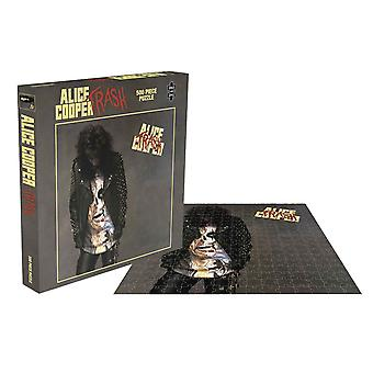 Alice Cooper Jigsaw Puzzle Trash Album Cover new Official 500 Piece