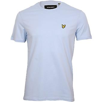 Lyle & Scott Classic Crew-Hals T-skjorte, Blå basseng