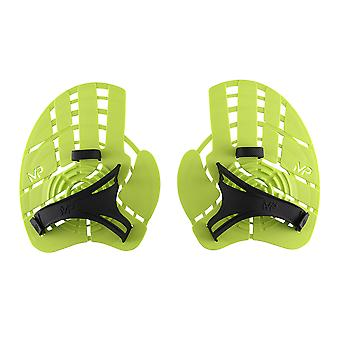 Aqua Sphere Strength Swim Hand Paddles - Neon