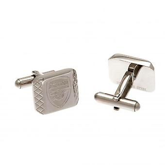 Arsenal Stainless Steel Cufflinks PT