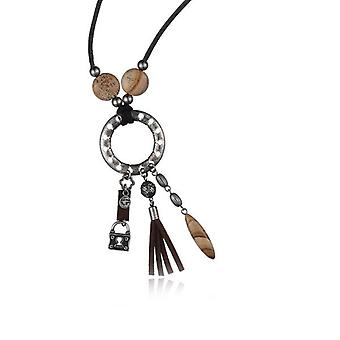 Ladies'Necklace Time Force TJ1032C01 (45 cm) (45 cm)